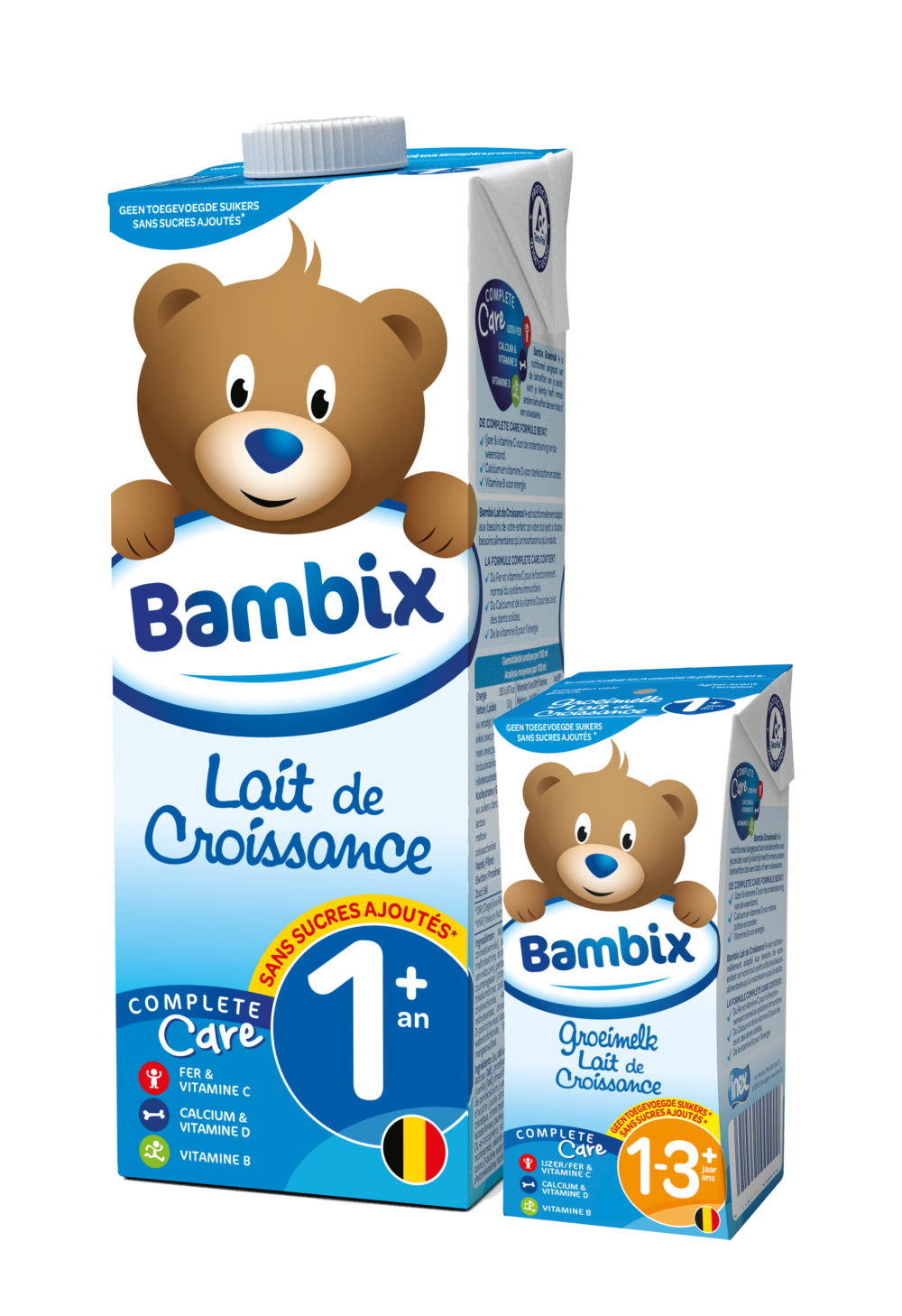 Bambix lait de croissance 1+