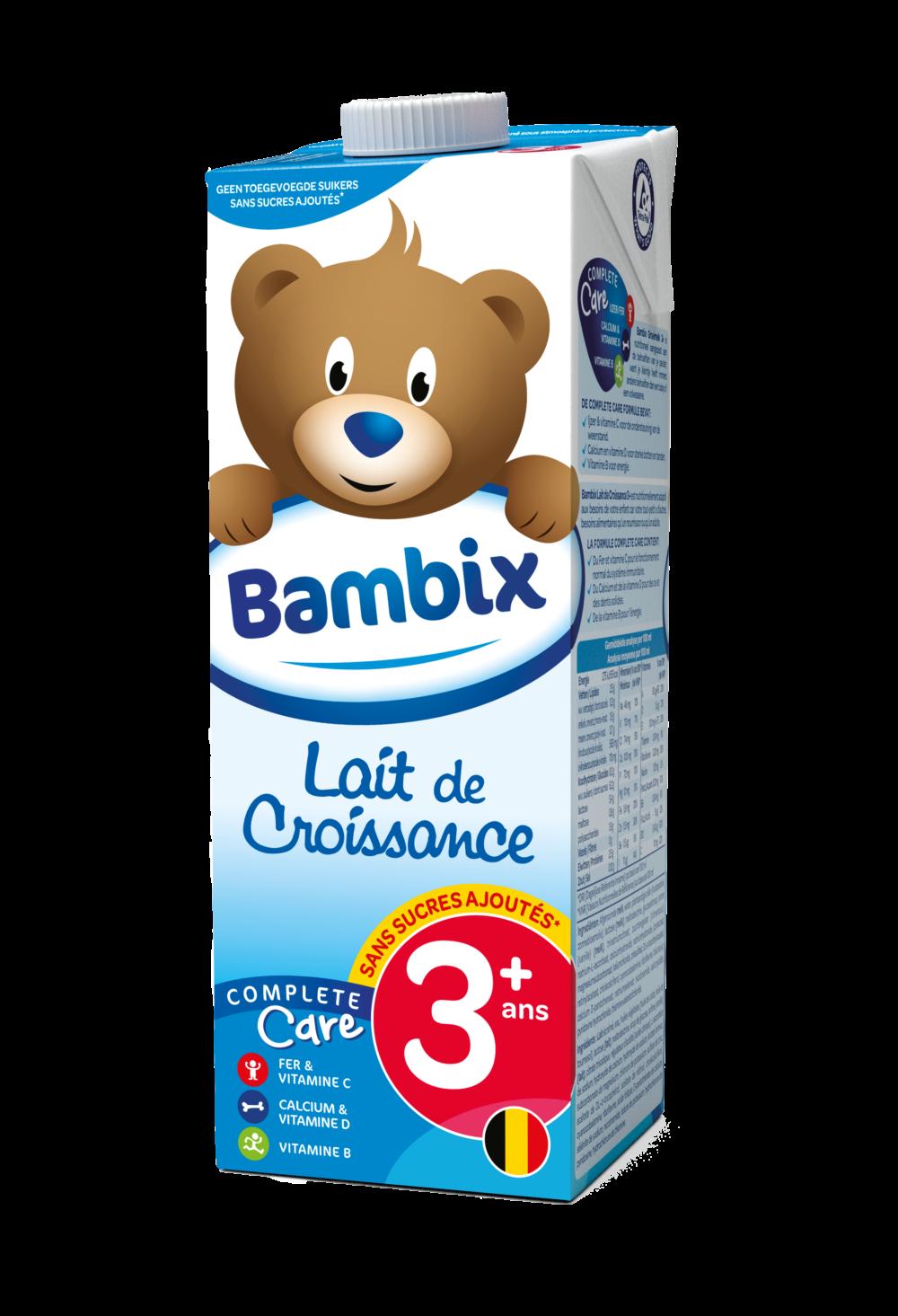 Bambix lait de croissance 3+