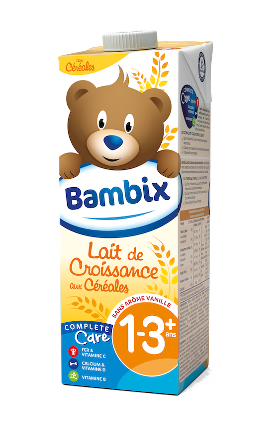 Bambix lait de croissance céréales 1-3