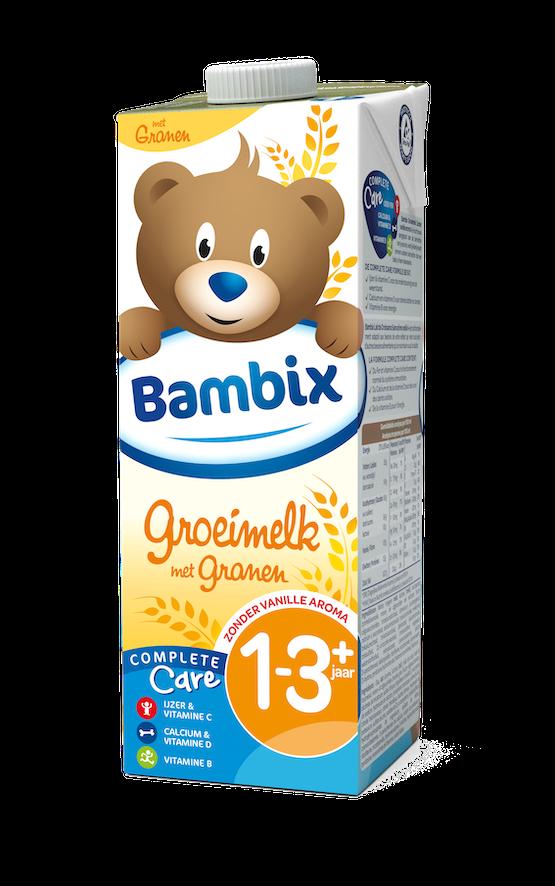 Bambix groeimelk met granen 1-3