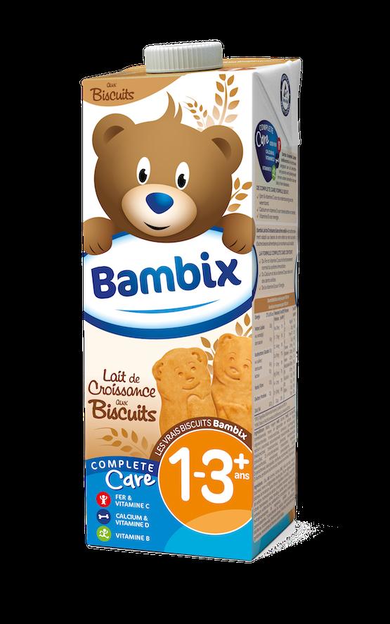 Bambix lait de croissance biscuits 1-3