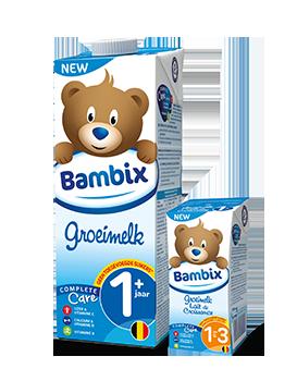 Groeimelk Bambix 1+