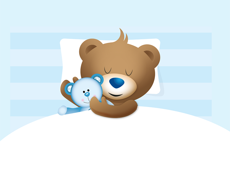 Bambix gaat slapen