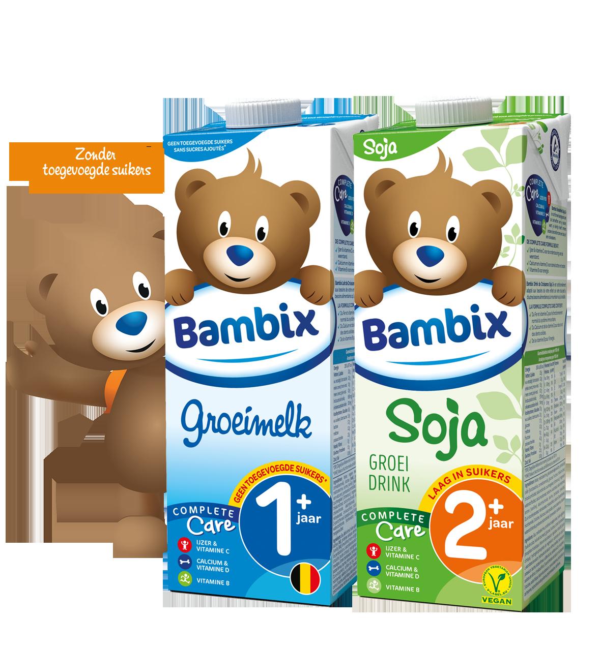 Bambix assortiment zonder toegevoegde suikers