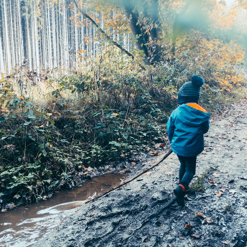 Bambix wandeling