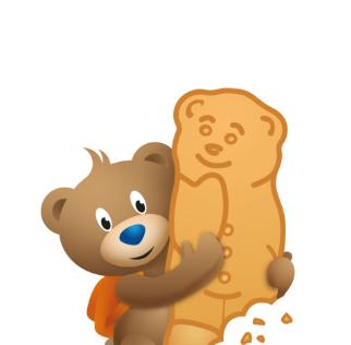 Bambix beertje berenkoekjes met honing