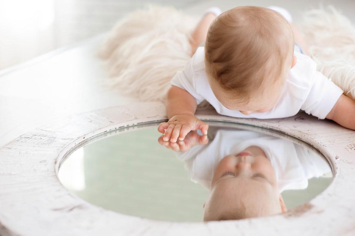 Bambix spiegel peuter
